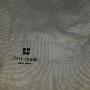 kate spade Bags - # B8,638 Kate Spade White Dust Sleeper Storage Bag